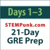 21-Day GRE Prep: Days 1 to 3