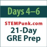 21-Day GRE Prep: Days 4 to 6